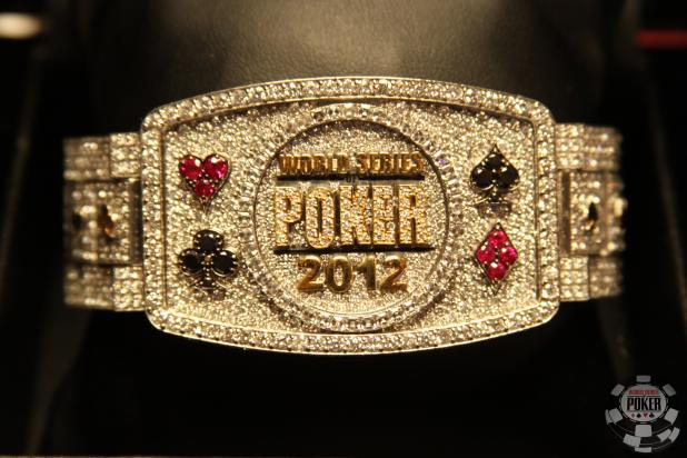 The 2012 WSOP Main Event Bracelet