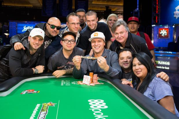 BRANDON BARNETTE WINS FIRST GOLD BRACELET EVENT OF 2015