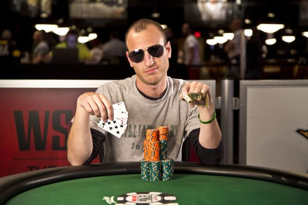 Article image for: IT'S OFFICIAL:  BRANDON PASTER WINS $1,500 POT LIMIT OMAHA