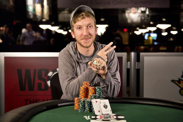 BRETT SHAFFER WINS A SECOND BRACELET