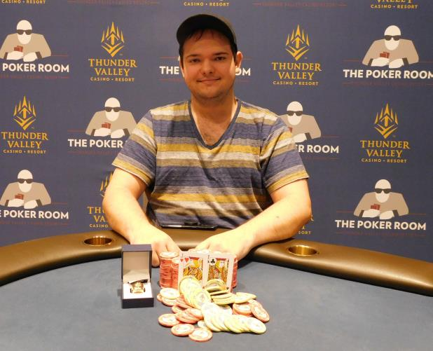 BRYANT MILLER WINS HIGH ROLLER AT THUNDER VALLEY FOR $44,413