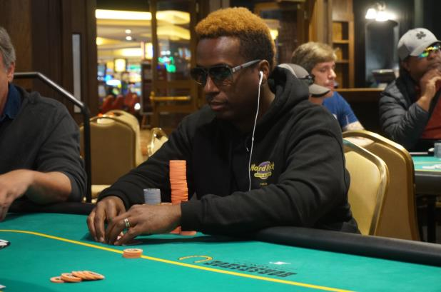 MAURICE HAWKINS LEADS FINAL FIVE PLAYERS IN COUNCIL BLUFFS MAIN EVENT