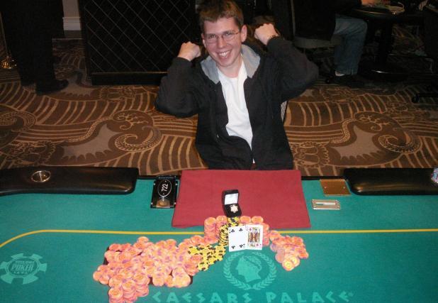 Caesars Palace Crowns a New Poker Champion,  Andrew Lichtenberger