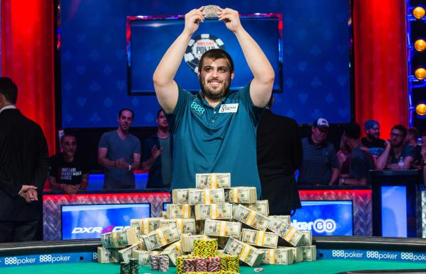 SCOTT BLUMSTEIN IS THE 2017 WSOP MAIN EVENT CHAMPION!