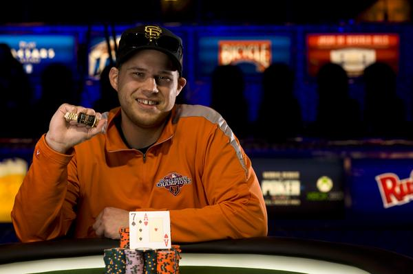 Article image for: CHRIS DOMBROWSKI WINS FIRST GOLD BRACELET