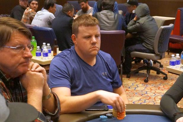 Article image for: MATT AFFLECK BAGS DAY 1B LEAD IN THUNDER VALLEY MAIN EVENT