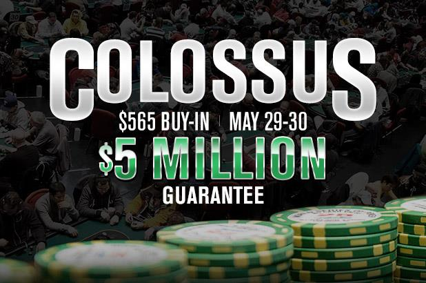 PLAYING THE WSOP COLOSSUS EVENT? WHAT YOU NEED TO KNOW