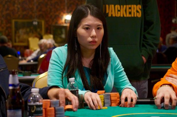 MICHELLE CHIN LEADS FINAL FOUR OF COUNCIL BLUFFS MAIN EVENT