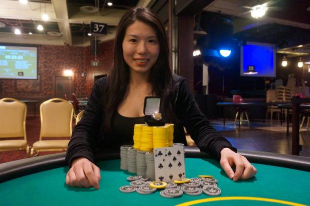 MICHELLE CHIN MAKES HISTORY AS CIRCUIT'S FIRST FEMALE MAIN EVENT CHAMPION