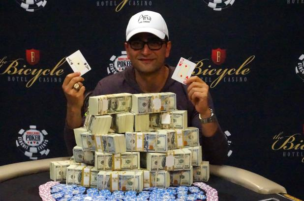 ANTONIO ESFANDIARI WINS MAIN EVENT AT THE BIKE