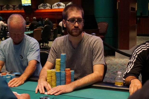 MIKE AZZARO LEADS FOXWOODS FINAL TABLE