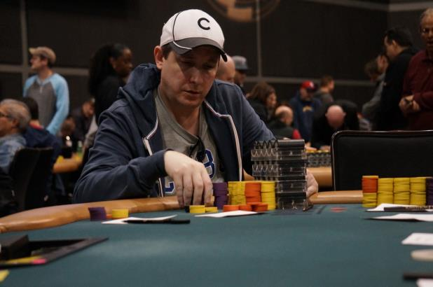 ARRIS KONTOS LEADS DAY 2 OF HAMMOND MAIN EVENT