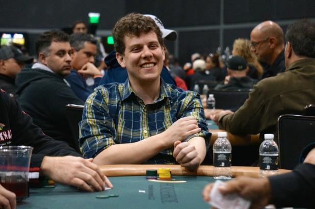 ARI ENGEL LEADS HEADING TO DAY 2 OF HAMMOND MAIN EVENT