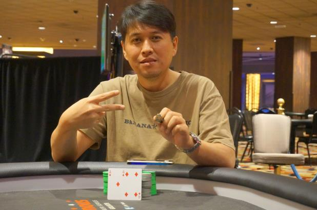 SEAN YU WINS PLANET HOLLYWOOD MAIN EVENT