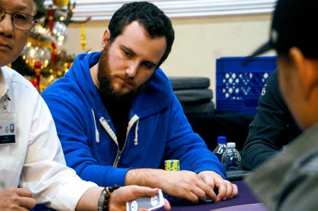 ELI LOEWENTHAL TAKES CHIP LEAD INTO DAY 2 OF BIKE MAIN EVENT