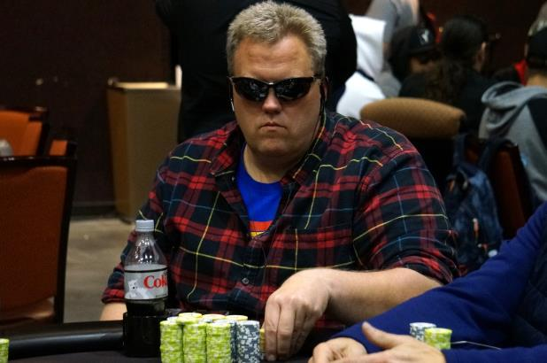 ALLAN HEDIN LEADS FINAL 31 ADVANCING TO DAY 3 OF CHOCTAW MAIN EVENT