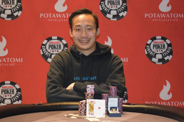 Article image for: PHILIP SHING WINS POTAWATOMI MAIN EVENT FOR $151,284