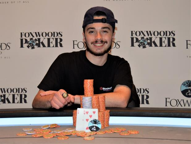 Article image for: JUSTIN CAREY WINS FOXWOODS MAIN EVENT FOR $143,293