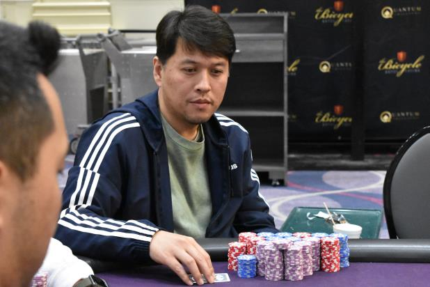 SEAN YU LEADS THE FINAL TWELVE INTO DAY 3