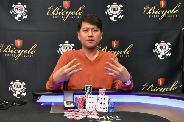 SEAN YU CONQUERS MAIN EVENT AT THE BIKE