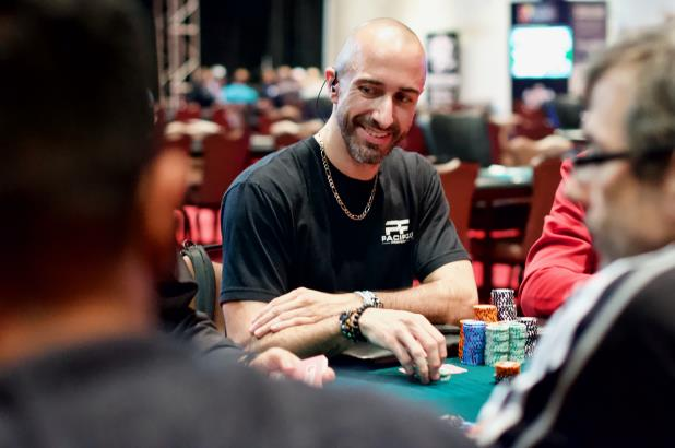 ANDREW PACIFICO LEADS DAY 2 OF COCO MAIN