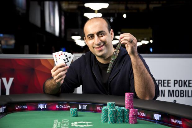 DANIEL ALAEI WINS FIFTH WSOP GOLD BRACELET