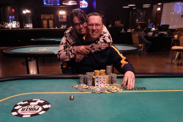 DAVID DAVENPORT WINS HORSESHOE COUNCIL BLUFFS MAIN EVENT