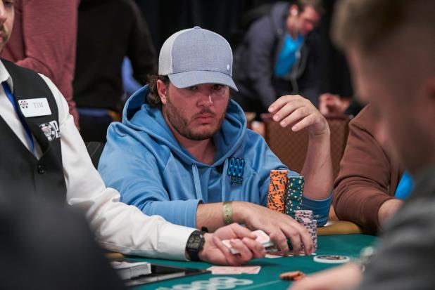 DEAN MORRONE LEADS MAIN EVENT DAY 4 AS FIELD THINNED TO 354 PLAYERS