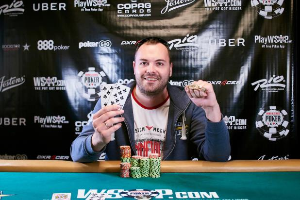 DENIS TIMOFEEV WINS $1,000 DOUBLE STACK NO-LIMIT HOLD
