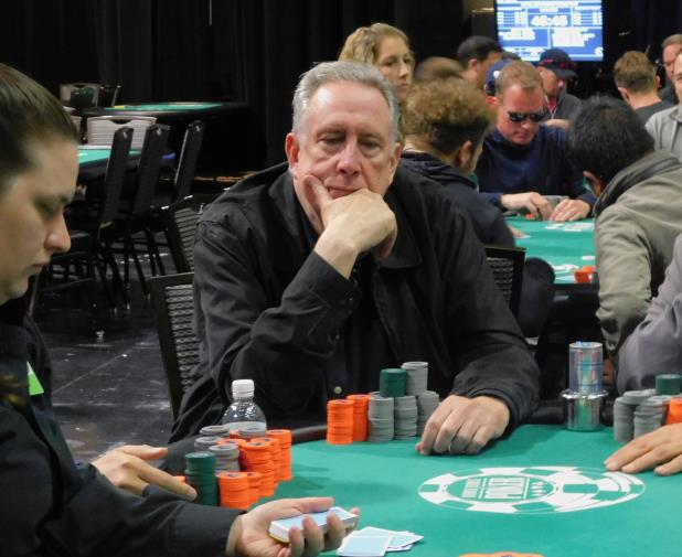 DENNIS BRAND LEADS HEADING INTO FINAL DAY OF HARRAH