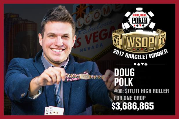 Article image for: DOUG POLK WINS $111,111 ONE DROP HIGH ROLLER
