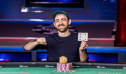 DYLAN WEISMAN TAKES DOWN EVENT #28: $1,000 POT-LIMIT OMAHA