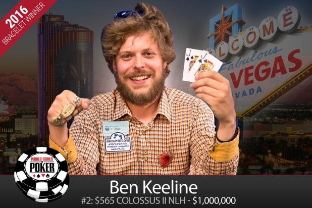 BENJAMIN KEELINE WINS COLOSSUS II AND MILLION-DOLLAR GUARANTEED PRIZE