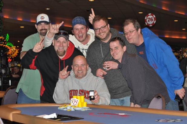 MARK PEARSE WINS RECORD-BREAKING OPENING EVENT AT HARRAH