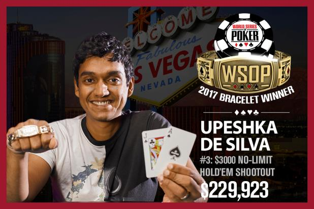 Article image for: UPESHKA DE SILVA CLAIMS SECOND CAREER BRACELET IN $3,000 SHOOTOUT