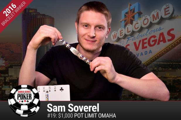 SAM SOVEREL TOPS 1,106-PLAYER FIELD AND WINS POT-LIMIT OMAHA TITLE