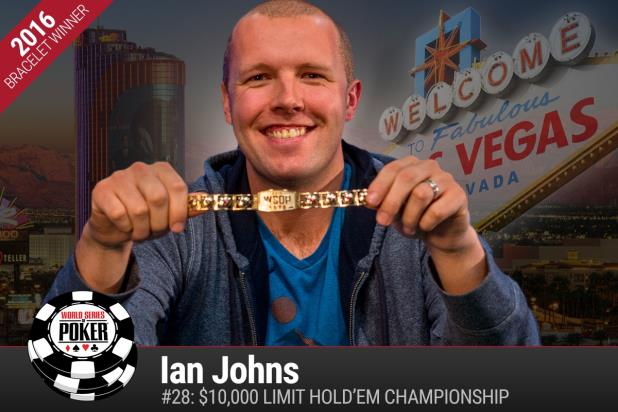Article image for: IAN JOHNS WINS $10K LIMIT HOLD'EM CHAMPIONSHIP