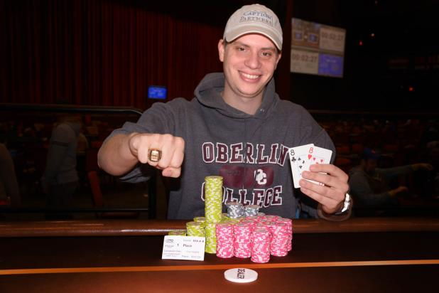 JASON STRASSER WINS CHOCTAW MAIN EVENT