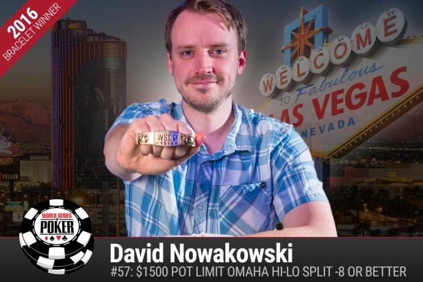 Article image for: DAVID NOWAKOWSKI WINS WSOP GOLD BRACELET IN POT-LIMIT OMAHA HIGH-LOW SPLIT