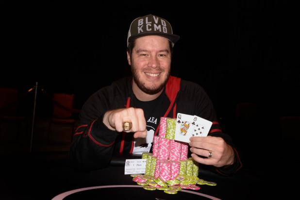 GRANT HINKLE WINS FIRST WSOP CIRCUIT RING IN MAIN EVENT AT CHOCTAW