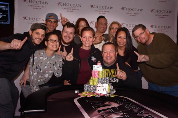 DAN LOWERY WINS CHOCTAW MAIN EVENT