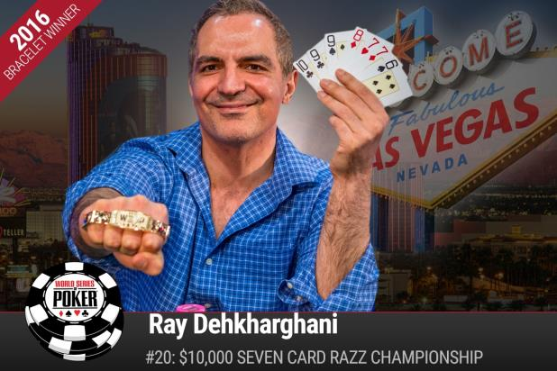 Article image for: RAY DEHKHARGHANI WINS $10K RAZZ CHAMPIONSHIP