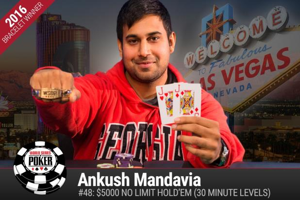 Article image for: ANKUSH AMBUSH: ANKUSH MANDAVIA WINS $5K TURBO NLHE TITLE