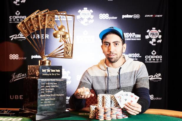 ELIOR SION WINS $50,000 POKER PLAYERS CHAMPIONSHIP