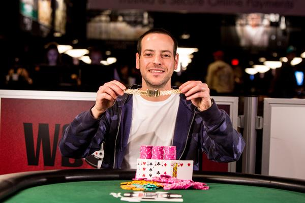 Article image for: ERIC BUCHMAN BAGS SECOND BRACELET IN SEVEN CARD STUD EVENT