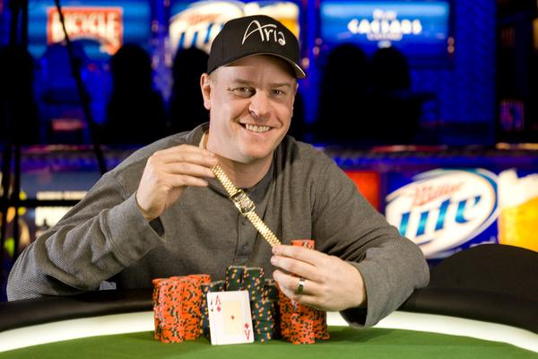 ERICK LINDGREN WINS SECOND CAREER WSOP GOLD BRACELET