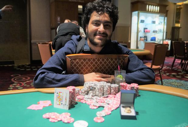 Article image for: MARTIN ZAMANI TAKES DOWN RIO LAS VEGAS CIRCUIT HIGH ROLLER