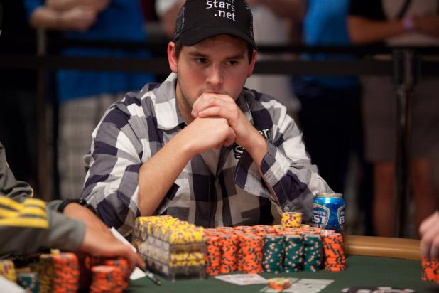 DOWN TO 205- CANADIAN EVAN LAMPREA LEADS BUT CHAN, MIZRACHI HEALTHY AND HUNGRY