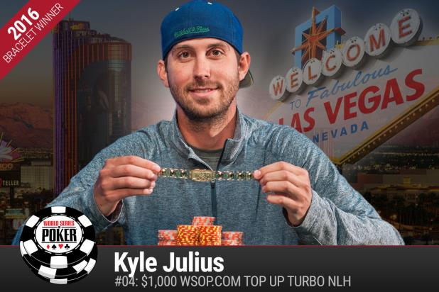 Article image for: KYLE JULIUS TOWERS IN TOURNEY DEBUT OF TOP UP TURBO NO-LIMIT
