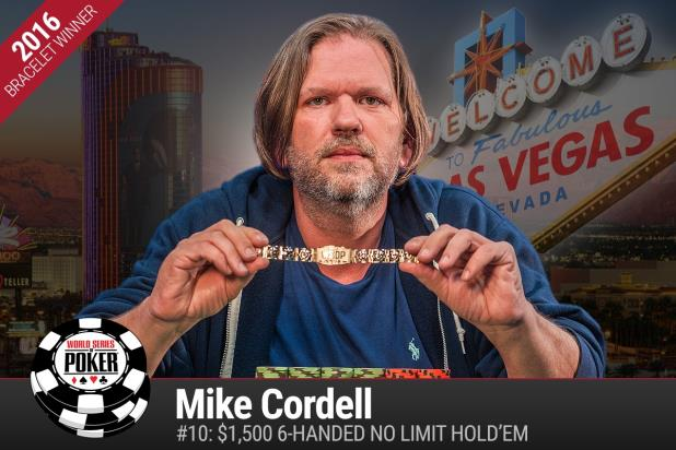Article image for: MIKE CORDELL WINS A GOLD BRACELET IN SIX-MAX NLHE